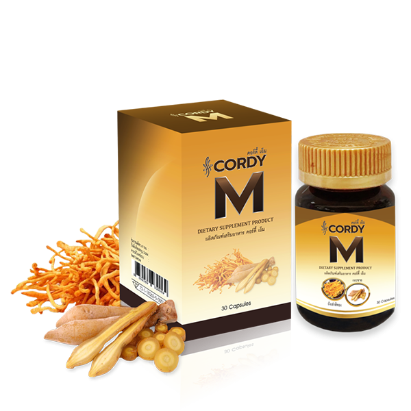 CORDY M DIETARY SUPPLEMENT PRODUCT / 30 Capsule